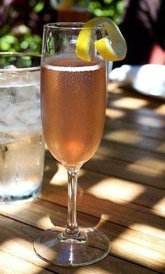 Sparkling Rosé cocktail
