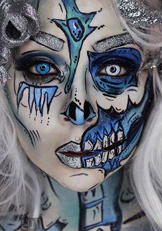 The Awesome Makeup Creations of Eva La Morte -