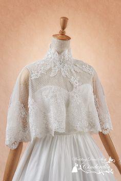 510633f6ef2bb ウェディングドレス ボレロ ケープ ショール