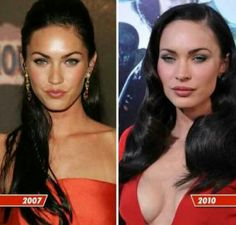 Sad what she's done.. Someone that beautiful who thinks they have to change it....Before and After Plastic Surgery - Megan fox :(((