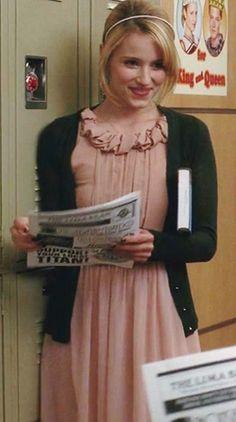 Quinn Fabray in Zara Dress #Glee