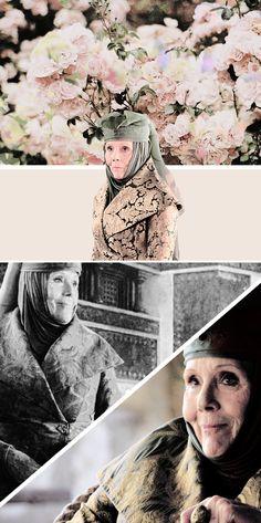 Olenna Tyrell ~ Game of Thrones Fan Art Senhora da casa Tyrell Valar Dohaeris, Valar Morghulis, Tyrell Got, Hbo Tv Series, Margaery Tyrell, Fire Book, Jaime Lannister, Game Of Thrones Fans, Love Games