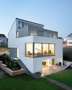 Modern Minimalist House In Boevange