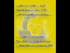 Salvatore Quasimodo- Compleanno - 20 agosto 1901- 20 agosto 2015