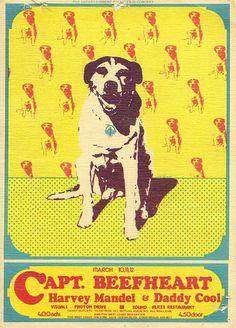 10.-12.3.1972; captain beefheart; usa, long beach, fox west coast theater; (db)