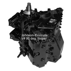 Johnson-Evinrude Outboard Powerhead, V-4, 90 deg, Looper, including Sea Drive, 120-140 HP 1985-1991, (price includes refundable core charge and free shipping) - Rainboat.com