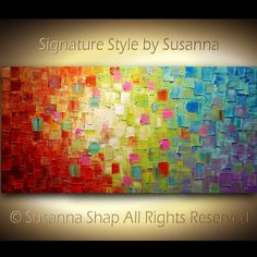 Controlled Chaos by Susanna Shap; I love the colors and light