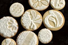 royal icing lace designs - Google Search