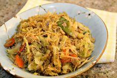 "Zensible Mama: My Filipino Heritage: Vegetarian Pancit aka ""Maricris Noodles"" Recipe"