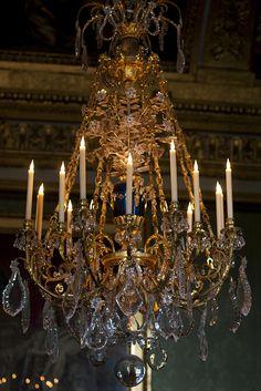 Marie Antoinette's chandelier, Versailles