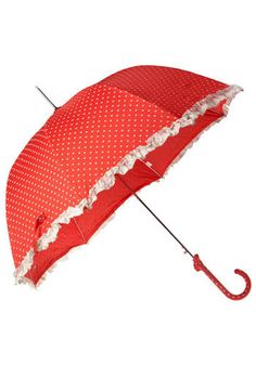 An umbrella like this would make me smile on a rainy day.