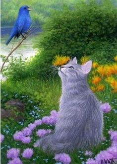 249 Best Cats Heavenly Beauty Among Flowers And Herbs