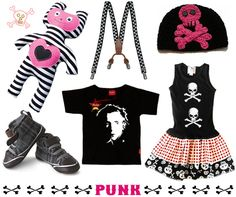 Punk Rock Music, Clothing and Toys for Kids