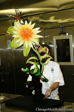 Chocolate Showpiece - Coupe du Monde  The Chicago School of Mold Making