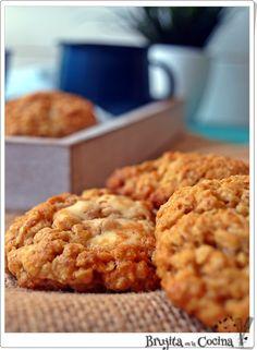 Las galletas perfectas para tomar en el desayuno y cargarse de energía, Te cuentan cómo hacerlas desde el blog BRUJITA EN LA COCINA.