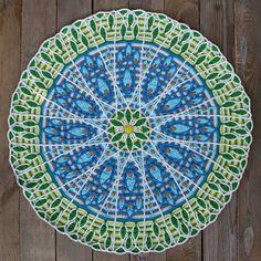 Crochet Overlay Mandala No. 8 Pattern PDF by CAROcreated on Etsy