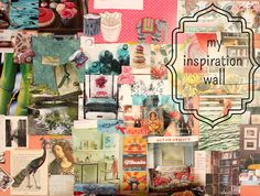 art journal friday – create an inspiration wall!