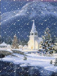 fde8720df37d7e422043208816bbfa45gif 240320 christmas scenes blue christmas christmas past - Animated Christmas Scenes