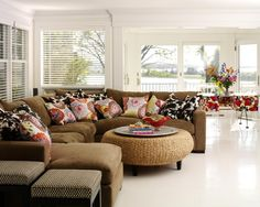 Brown Couch Design, Pictures, Remodel, Decor and Ideas - page 5