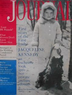 Ladies Home Journal Women's Magazine Feb 1961 Jacqueline Kennedy Fashion Vtg