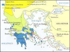 Grecia - Guerras Médicas