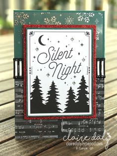 Stampin Up Merry Little Christmas Memories and More Pocket Scrapbooking cards. 2017 Christmas Card by Claire Daly, Stampin Up Demonstrator Melbourne Australia.