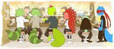 happy tree friends flippy x flaky anime - Pesquisa Google