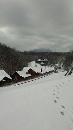 Snowed in at Hidden Mountain Resort!