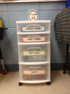 I'm Done Jar and Cart! Change out activities based on your skills. Def need to do this in my classroom! Classroom Organisation, Teacher Organization, Classroom Setup, Teacher Tools, Future Classroom, School Classroom, Classroom Management, Organized Teacher, Organization Station