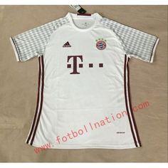 #Bayern München 16-17 matchtröja Borta Kortärmad,259,28KR,shirtshopservice@gmail.com