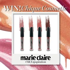 We have Get Naked liquid lipstick from @chiquecosmetic to be won! Repost this picture with hashtags #MarieClaireGiveaway #MCLipspiration and tag 3 friends to follow @marieclairemalaysia Giveaway ends 31st Oct via MARIE CLAIRE MALAYSIA MAGAZINE OFFICIAL INSTAGRAM - Celebrity  Fashion  Haute Couture  Advertising  Culture  Beauty  Editorial Photography  Magazine Covers  Supermodels  Runway Models