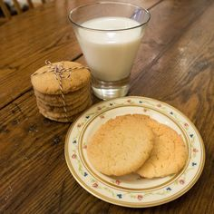 Crisp, delicious and very easy to make sugar cookies made with ingredients on hand.  #MyAllRecipes