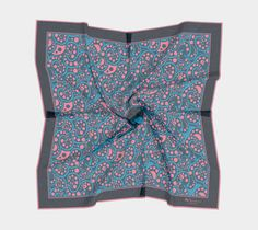 Von Rose Pearl, designer scarf, scarves, pocket squares