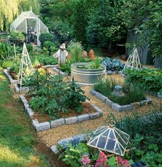 Having your own garden at home will provide many benefits. One of them is to reduce spending to buy a variety of vegetables and other kitchen needs that can be planted in a home garden. Vertical vegetable gardens are gardens… Continue Reading → Backyard Vegetable Gardens, Backyard Garden Design, Vegetable Garden Design, Outdoor Gardens, Veg Garden, Back Yard Gardens, Garden Types, Garden Edging, Edible Garden
