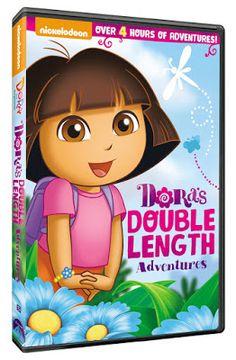 Dora the Explorer: Dora's Double Length Adventures 3 Disc DVD Review {+ Giveaway - Ends 8/4}   http://couponsavvysarah.blogspot.com/2015/07/dora-explorer-doras-double-length.html