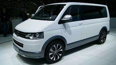 2014 Volkswagen Multivan Alltrack - Exterior and Interior Walkaround - 2014 Geneva Motor Show Vw T5, Volkswagen, Caravelle T5, Geneva Motor Show, Campervan, Van Life, Motorhome, Cars And Motorcycles, Commercial