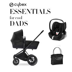 For all the soon-to-be dads out there. Our CYBEX Priam in Black Beauty means you will look suave and have all of the essentials for parenthood covered!