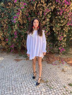 Shoulder Dress, White Dress, Shirts, Dresses, Fashion, Vestidos, Moda, Fashion Styles, Dress