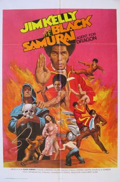 Best Film Posters : – Picture : – Description Black Samurai is a 1977 American blaxploitation film directed by Al Adamson, starring Jim Kelly. Cinema Posters, Film Posters, Retro Posters, Cult Movies, Action Movies, African American Movies, Westerns, Jim Kelly, Kung Fu Movies