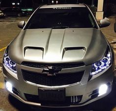 Plastic Dip Emblems And Tail Lights Chevy Sonic Owners