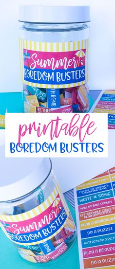 50 Summer Boredom Busters for Kids Summer Crafts For Kids, Summer Activities For Kids, Summer Diy, Fun Activities, Free Summer, Activity Ideas, Summer Ideas, Kids Fun, Fun Games