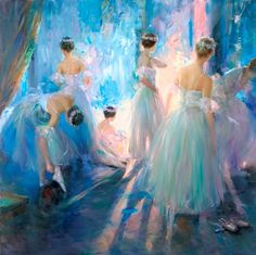 A Collection of Blue Illustration Art at: http://www.pinterest.com/oddsouldesigns/illustrate-the-rainbow-blue/ #ballet #ballerinas
