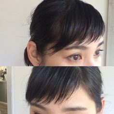 短い前髪革命♡【斜めに流す】がトレンド!短い前髪は無敵! | 美人部
