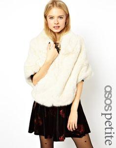 ASOS PETITE Exclusive Premium Faux Fur Stole