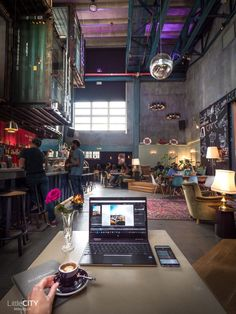 Zurich: 29 top cafés for working & studying Zurich, Top Cafe, Cafe Bar, Cafe Restaurant, Coffee Shop Aesthetic, Switzerland Cities, Entertainment Sites, Modern Cafe, Pubs And Restaurants