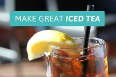 Pour over ice