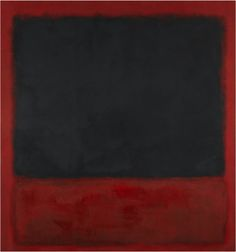 "Mark Rothko's ""Untitled (Black, Red over Black on Red)"" (1964) KATE ROTHKO PRIZEL & CHRISTOPHER/ADAGP, PARIS 2015"