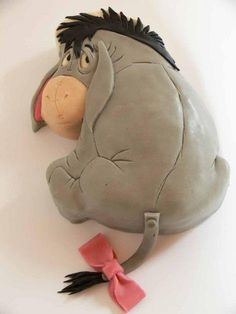 Eeyore cake -- for dads birthday lol