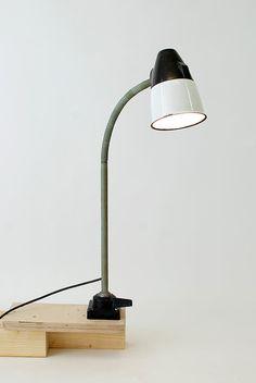 "Worbench lamp  :""CCCP""."