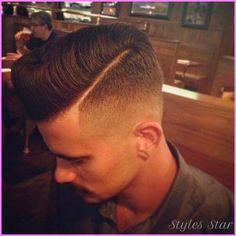 Mens fade haircut - http://stylesstar.com/mens-fade-haircut.html